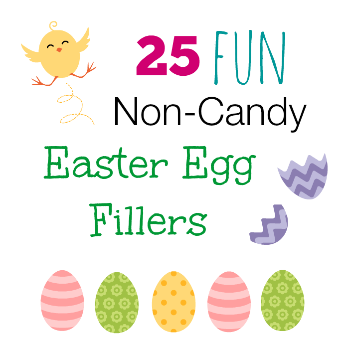 Non-Candy Easter Egg Fillers, Easter Egg Fillers, Easter Eggs