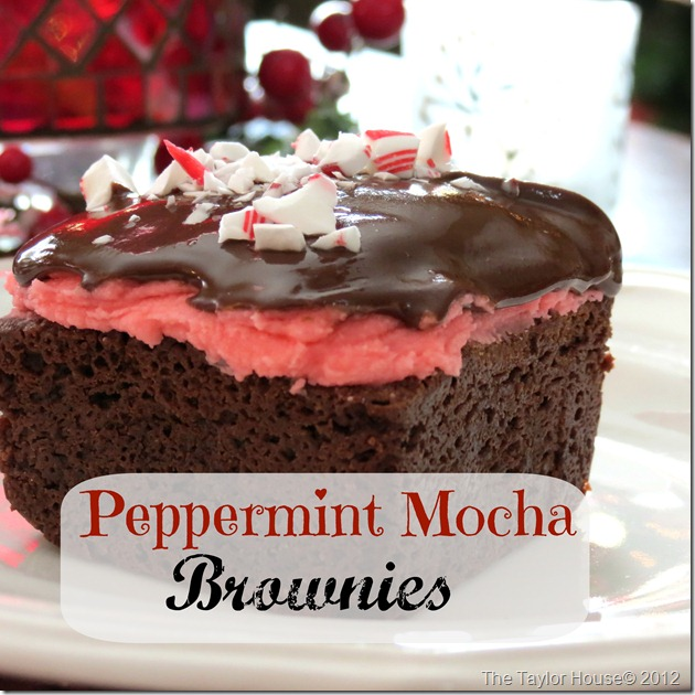 Peppermint Mocha Brownies thumb Delicious Holiday treats with Coffee Mate #UltimateCup