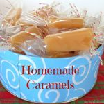 caramels 150x150 Post from the Past: Hot Chocoalte Gift Basket