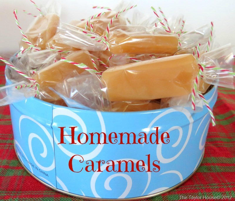 ... Christmas Cookie/Treats. Day 5: Homemade Caramels - The Taylor House