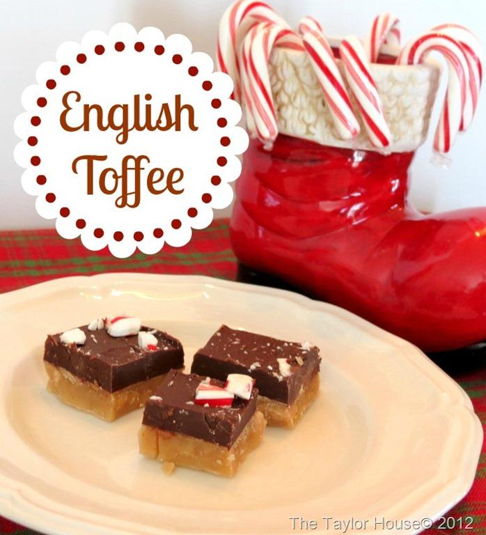 English Toffee Recipe