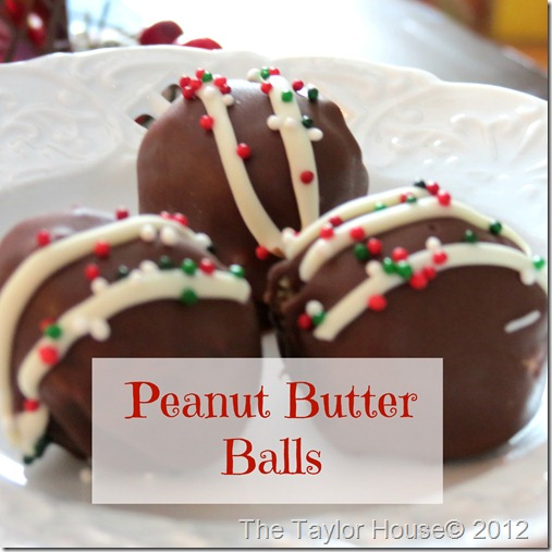 peanut butter balls thumb Favorite Desserts from 2012