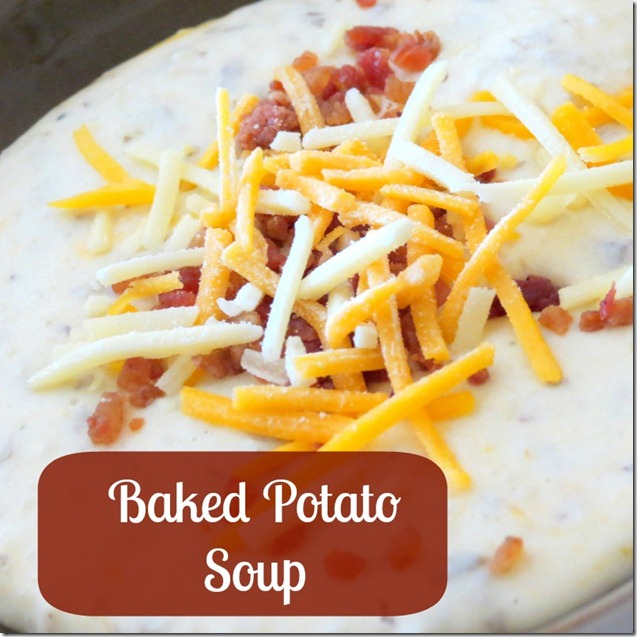 Baked Potatoe Soup Crock Pot