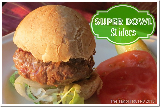 sliders thumb Homemade Game Day Recipes