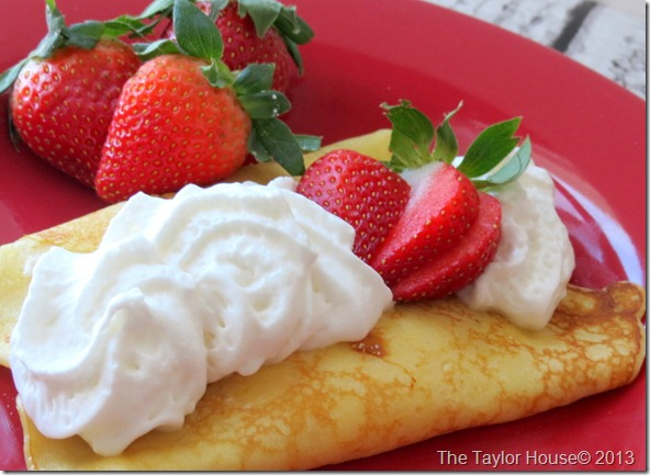 IMG 2687 thumb Strawberry Shortcake Crepes Recipe