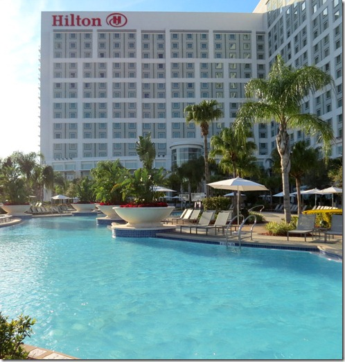 Hilton Hotel Orlando, great family vacation getaway