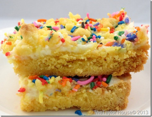 Easy and delicious Lemon Cake Bars from a box mix,perfect for spring!