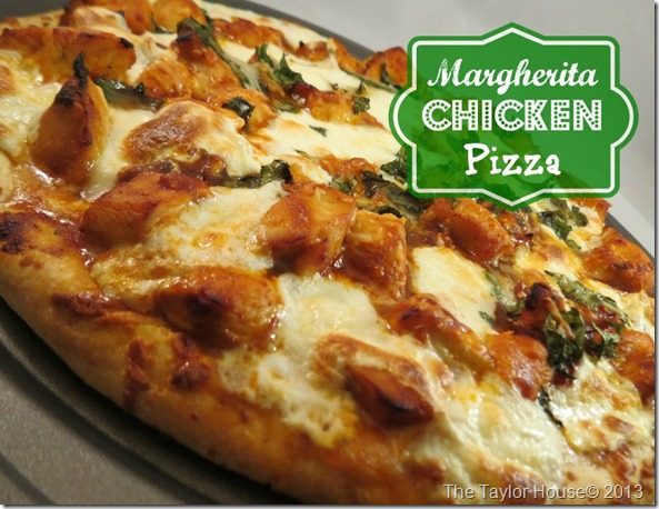 The Taylor House, Margherita pizza, Easy homemade margherita pizza, Cambell's Skillet sauce