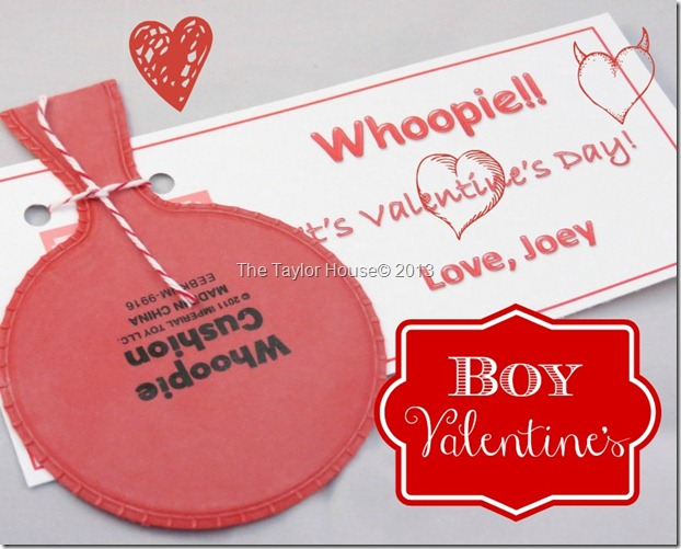 boy valentine thumb Boys Valentine Idea with a Printable