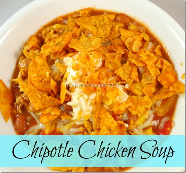 chipotlechicken1 thumb Chipotle Chicken Soup Recipe