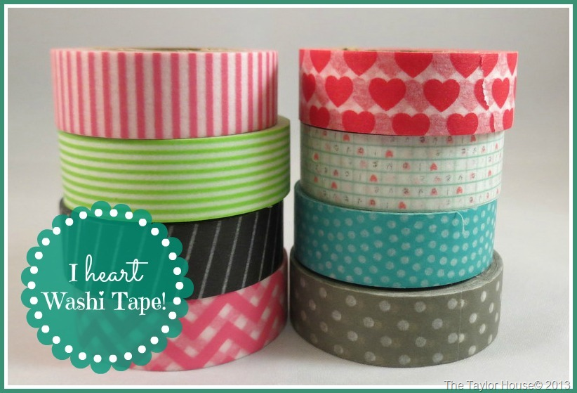 Easy Washi Tape Note Cards The Taylor House