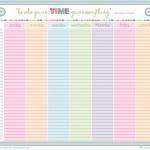 weeklyroutineprintable 150x150 Workout With Randees Chaos