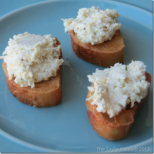 Ricotta and Parmesan Spread Recipe, Ricotta Recipe