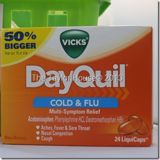 Get Well Soon with DayQuil and Nyquil