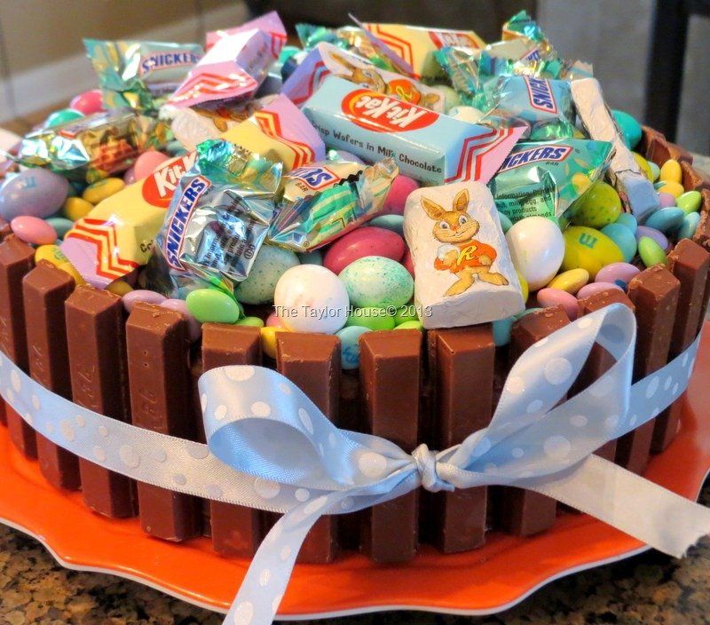 Easter Basket Cake Decorating Ideas : Easter Basket Kit Kat Cake - The Taylor House