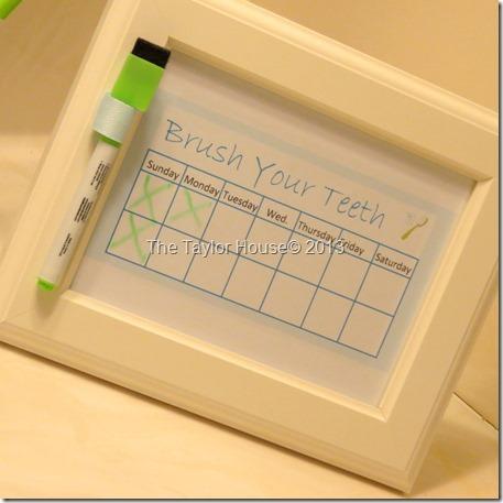 Brushyourteeth schedule, free printable chart, printable kids chart