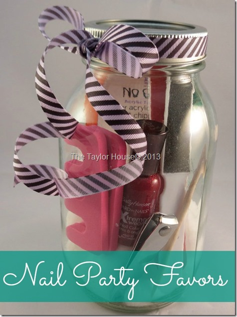 Manicure party gifts