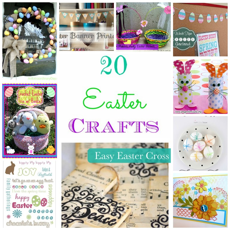 here are 20 fun easter craft ideas