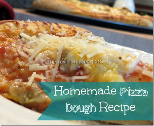 pizza dough thumb Quick and Easy Homemade Pizza Dough Recipe