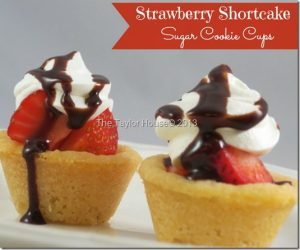 strawberry shortcake sugar cookie thumb 300x250 Strawberry Shortcake