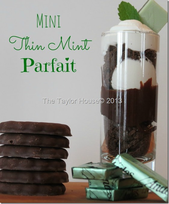 Chocolate Mint Parfait Recipe, St. Patrick's Day dessert