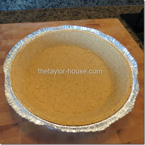 Graham Cracker Crust, Chocolate Pie REcipe