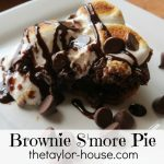 Browniesmorepie 150x150 Easy Lemon Cake Bars