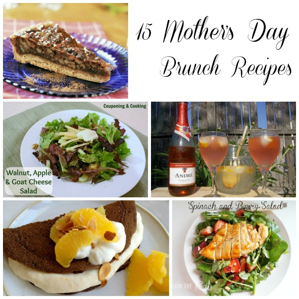 15 Mothers day Brunch Recipes, Mothers Day, Mothers Day Brunch