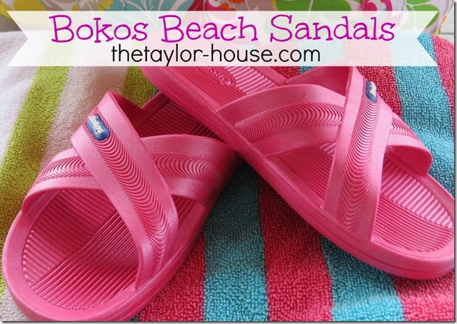 Bokos Beach Sandals
