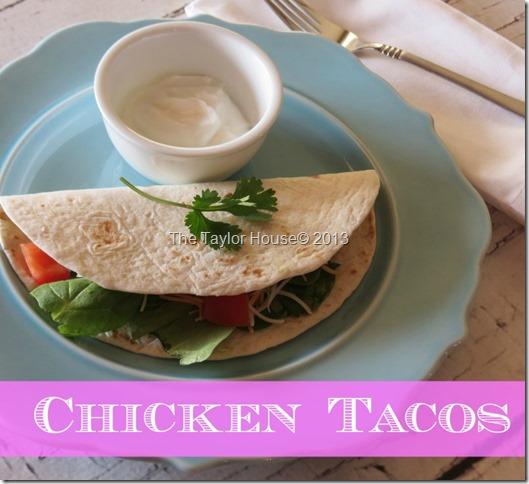 chickentacos thumb Easy Chicken Taco Recipe