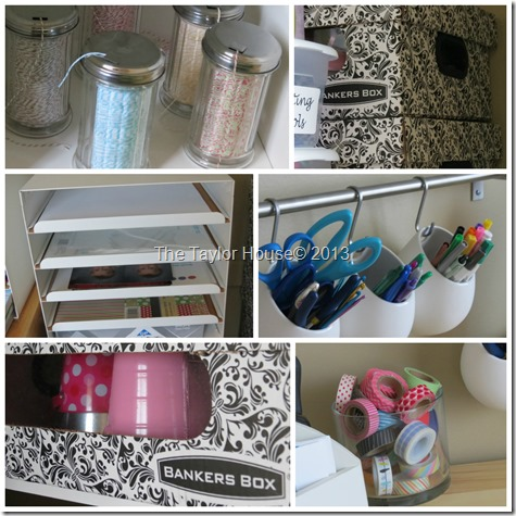 Organizing Your Craft Room, Bankers Box