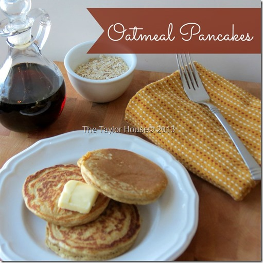 Oatmeal Whole Wheat pancake Recipe