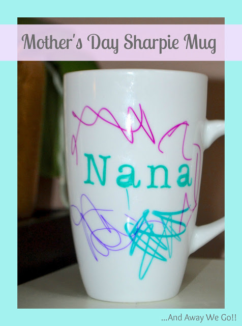 Mothers Day Homemade Sharpie Mug Gift Idea The Taylor House