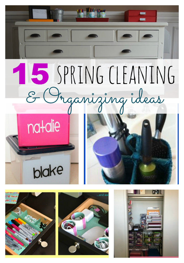 15 spring cleaning organizing ideas the taylor house for House cleaning and organizing