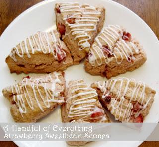 strawberrysweetheartscones