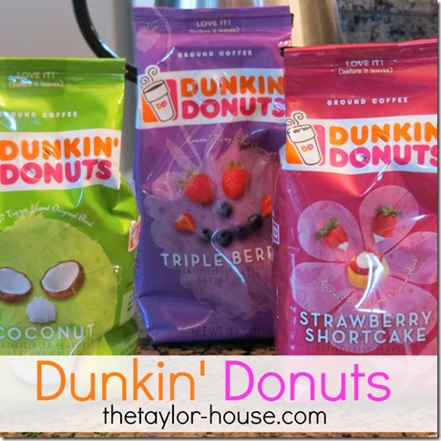 Dunkin' Donuts Spring Flavors