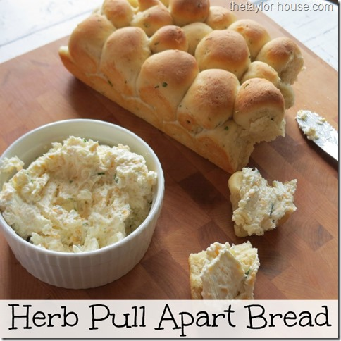 ... bread dough as well to make this pull apart bread. I love making