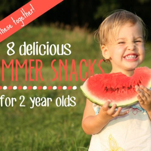 food activities for 2 year olds