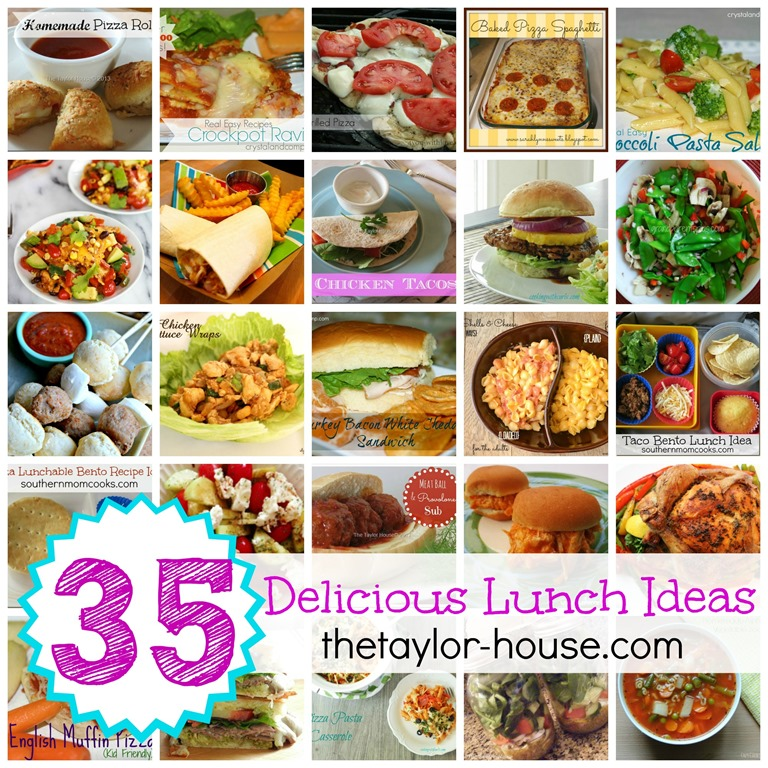 35 Delicious and Easy Lunch Ideas35 Delicious and Easy Lunch Ideas   The Taylor House. Easy Tasty Lunch Ideas. Home Design Ideas