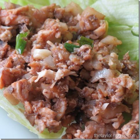 PF Chang lettuce Wrap