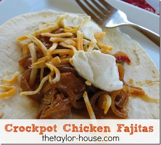 easy recipes, chicken fajitas