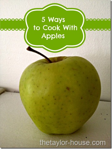 cooking with apples, fall food