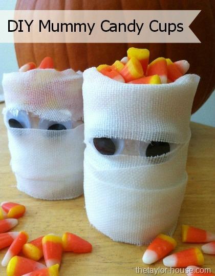 halloween crafts - Halloween Mummy Crafts