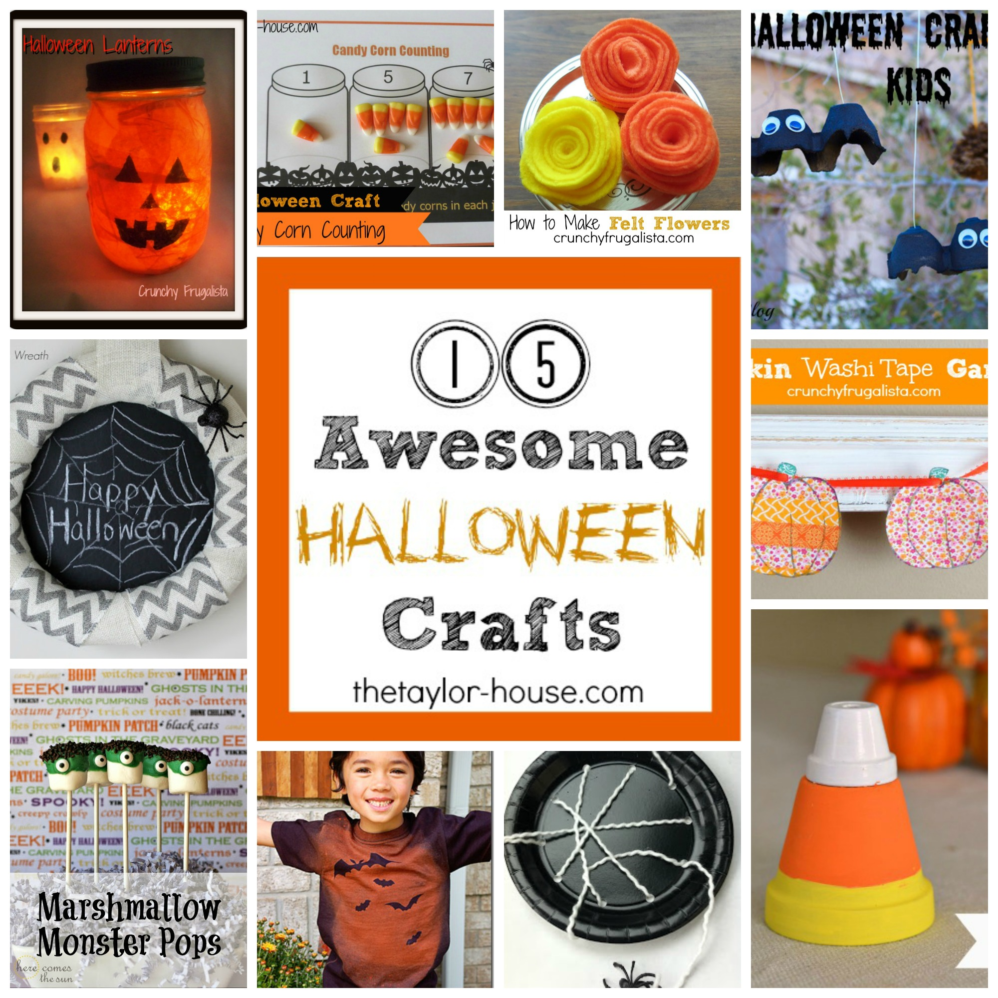 15 awesome halloween crafts the taylor house for Awesome crafts for kids