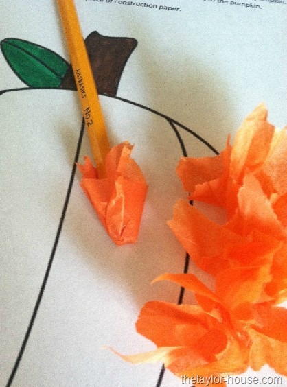 Halloween Crafts Made With Construction Paper