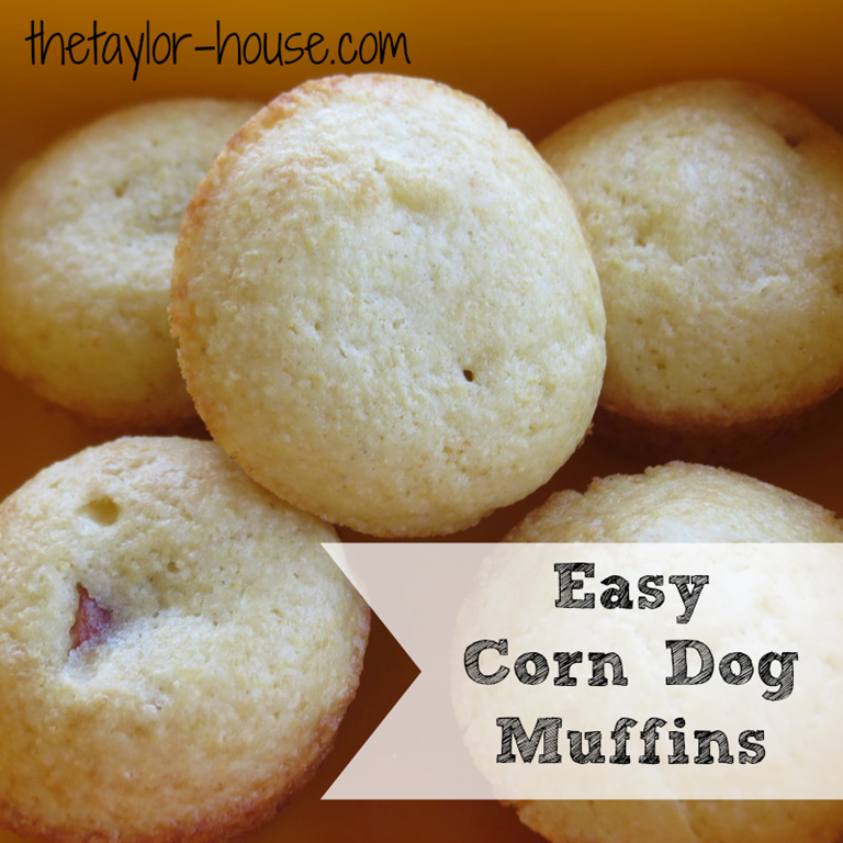 Corn Dog Muffins Cake Ideas and Designs