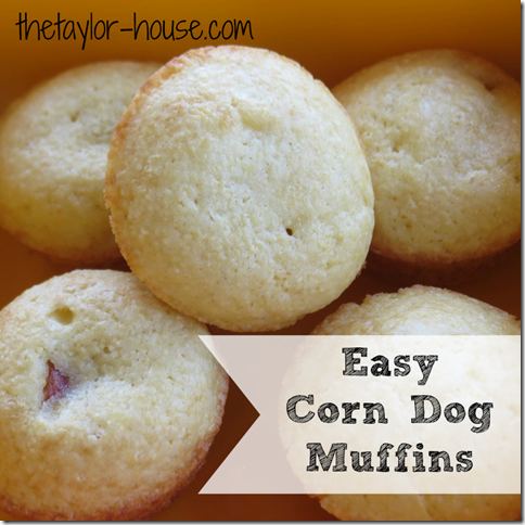 Corn Dog Muffins, easy recipes