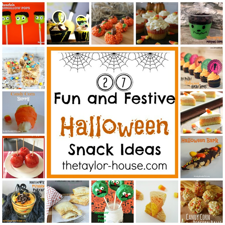 27 Fun And Festive Halloween Snack Ideas The Taylor House