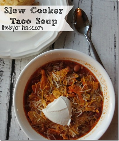 taco soup slow cooker, Taco Soup, slow cooker recipes