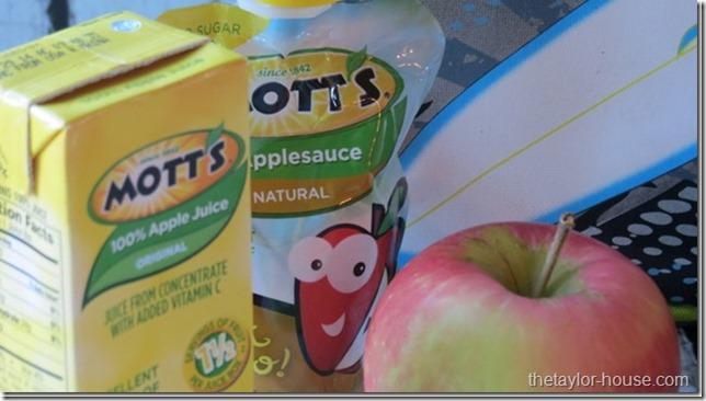 Motts, Ad, School Lunch Organization